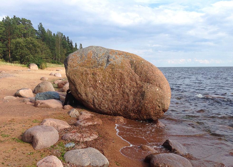 залива фото финского камни